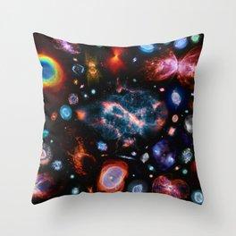 Nearest galaxies Throw Pillow