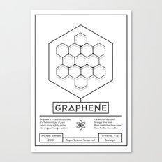 Graphene: Super Science Series No.1  Canvas Print
