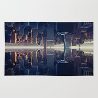 inception Area & Throw Rugs featuring Inception by Thomas Richter