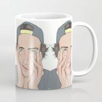 boy Mugs featuring BOY by Laura O'Connor