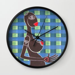 inside me / just a girl Wall Clock