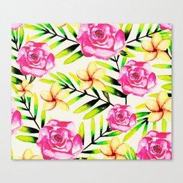 Tropical Gal Canvas Print
