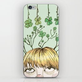 Spring Girl iPhone Skin