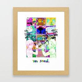 children's world Framed Art Print