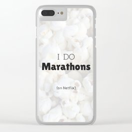 Netflix and Chill Clear iPhone Case