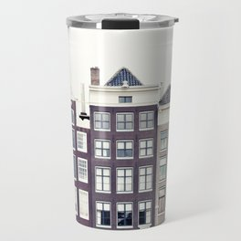 Amsterdam House Travel Mug