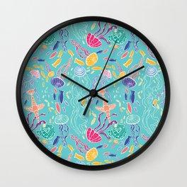 Jellies Jammin Wall Clock
