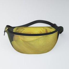 A Friendly Yellow Rose Fanny Pack
