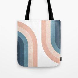 70s Rainbow Tote Bag