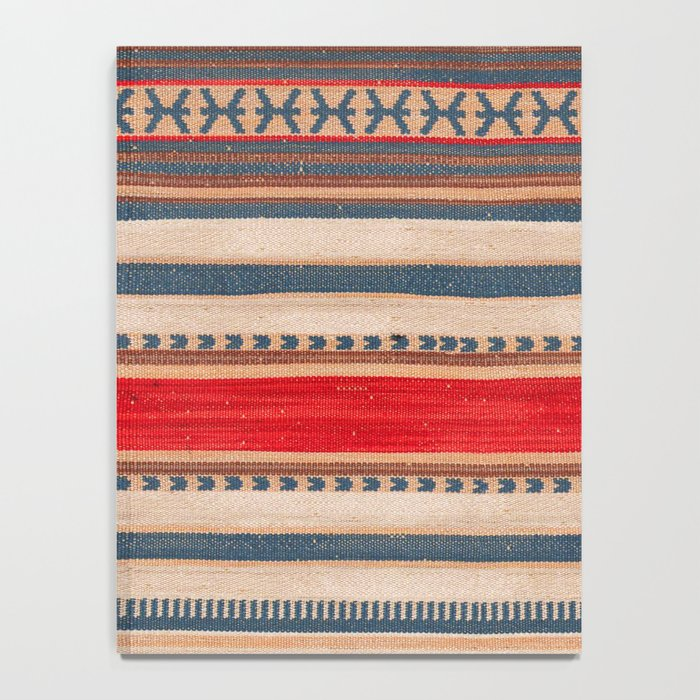N66 - Classic Oriental Moroccan Style Fabric. Notebook