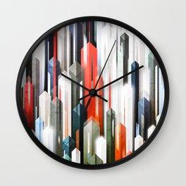 obelisk posture 2 (variant 2) Wall Clock