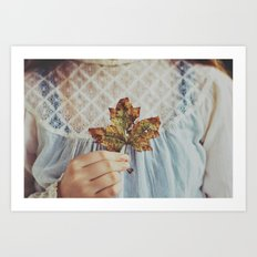 For The Love Of Autumn Art Print