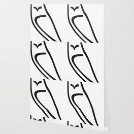 Vector Style Owl Wallpaper