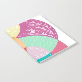 Squiggles & Quilts  Notebook