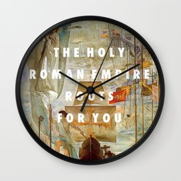 The Discovery of Cape Cod Wall Clock