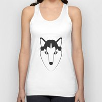 husky Tank Tops featuring Husky by anabelledubois