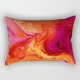 Abstract Hurricane II by Robert S. Lee Rectangular Pillow