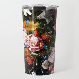 "Jan Davidsz. de Heem ""Still life with Flowers"" Travel Mug"