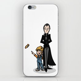 Father & Daughter iPhone Skin