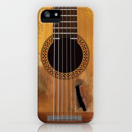Willie Nelson's Trigger Guitar iPhone Case