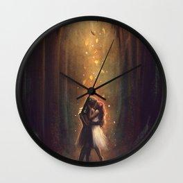 Reunion - Hades and Persephone Wall Clock