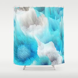 Cold World Shower Curtain