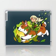 Corgi and Fairy Laptop & iPad Skin