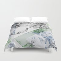 serenity Duvet Covers featuring Serenity by La Scarlatte