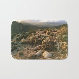 Borrego Desert Sunset Bath Mat