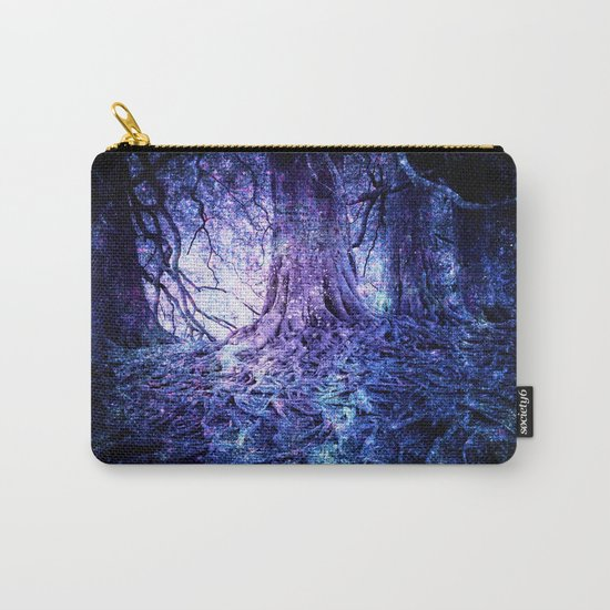 The Wishing Tree : Purple Blue Carry-All Pouch