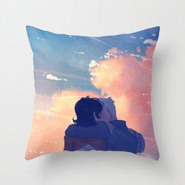 As Many Time as it takes Throw Pillow