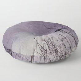 the watcher Floor Pillow
