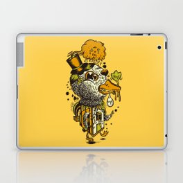 A Disorientated Duck Goes For A Stroll Laptop & iPad Skin