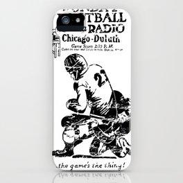 Chicago-Duluth-Radio iPhone Case