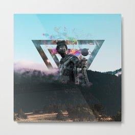 Cosmic Visitor Metal Print