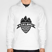 explore Hoodies featuring Explore  by Dylan Morang