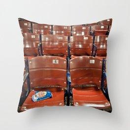 Fenway Park Seats Throw Pillow