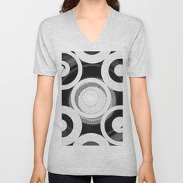 Circle Abstract Unisex V-Neck