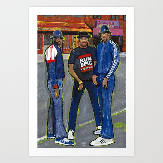 Who's House? Art Print