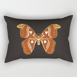 Atlas Moth (Attacus Atlas) Rectangular Pillow