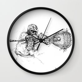 The Stopper (The Art of Lax™) Wall Clock