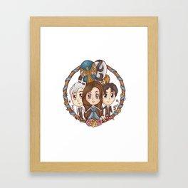 Tessa & Will & Jem Framed Art Print