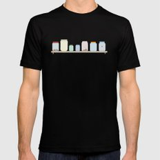Jars MEDIUM Mens Fitted Tee Black