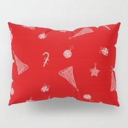 RedXmas Pillow Sham