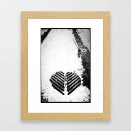 LoveStreet Framed Art Print