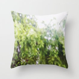 SOMETHING LIKE A TREE Throw Pillow
