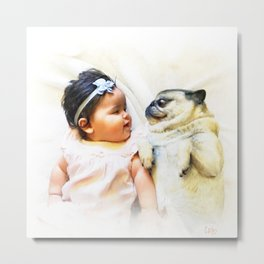 Friends For Life Metal Print