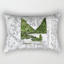 Green Desease Rectangular Pillow