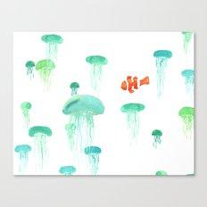 Sea of Jellies Canvas Print