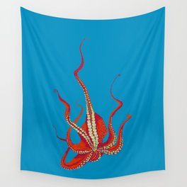 Stitches: Octopus Wall Tapestry